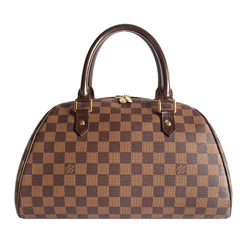 Louis Vuitton Damier Ebene Ribera MM Satchel Handbag