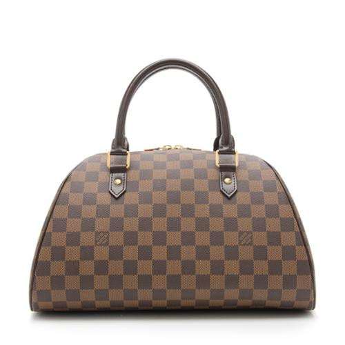 Louis Vuitton Damier Ebene Ribera MM Satchel