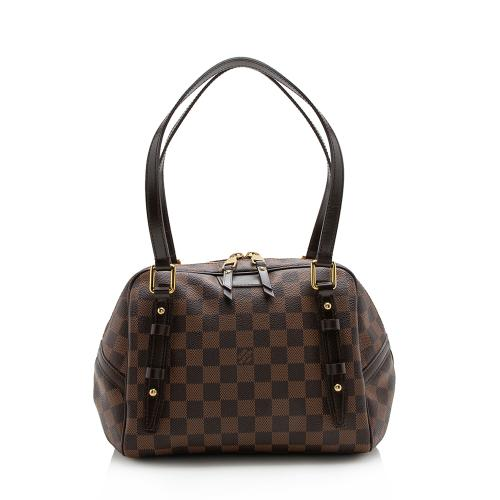 Louis Vuitton Damier Ebene Rivington PM Satchel