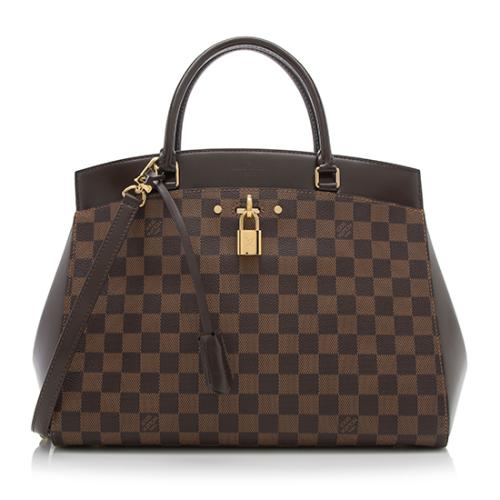 Louis Vuitton Damier Ebene Rivoli MM Satchel