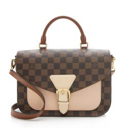 Louis Vuitton Damier Ebene Sac Beaumarchais Satchel
