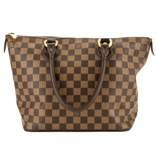 Louis Vuitton Damier Ebene Saleya PM Tote