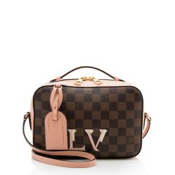 Louis Vuitton Damier Ebene Santa Monica Shoulder Bag
