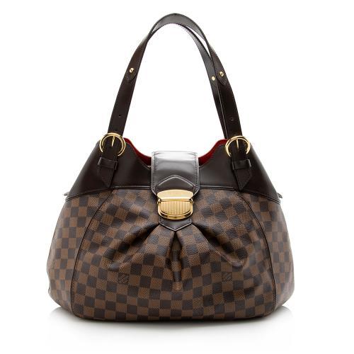 Louis Vuitton Damier Ebene Sistina GM Shoulder Bag