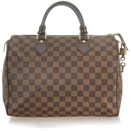 Louis Vuitton Damier Ebene Speedy 30 Handbag - FINAL SALE