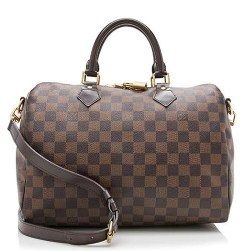 Louis Vuitton Damier Ebene Speedy Bandouliere 30 Satchel