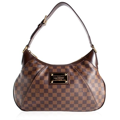 Louis Vuitton Damier Ebene Thames GM Shoulder Handbag