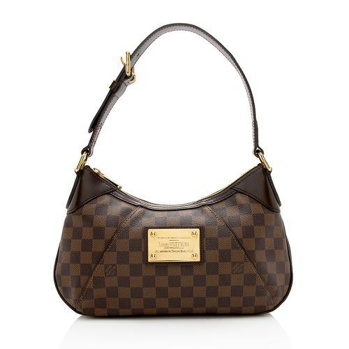 Louis Vuitton Damier Ebene Thames PM Shoulder Bag