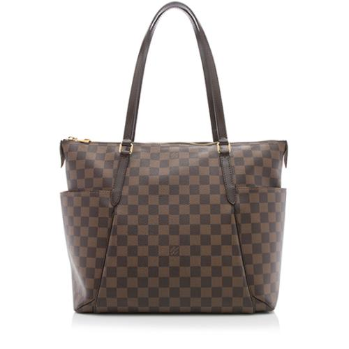Louis Vuitton Damier Ebene Totally MM Tote
