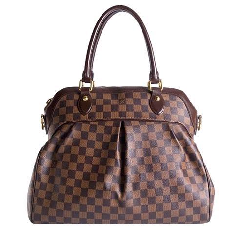 Louis Vuitton Damier Ebene Trevi GM Satchel Handbag