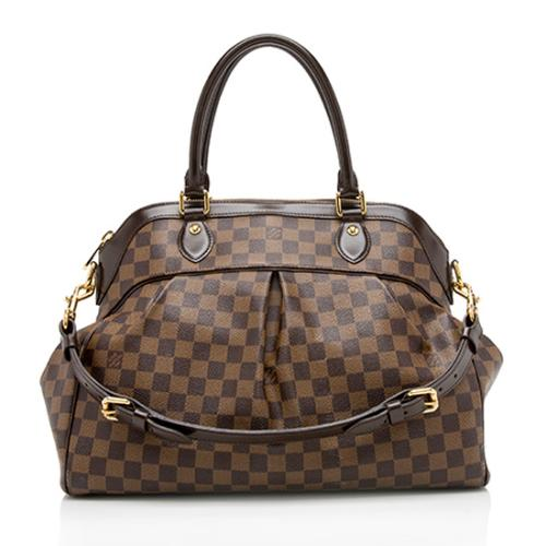 Louis Vuitton Damier Ebene Trevi GM Satchel