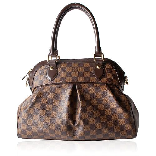 Louis Vuitton Damier Ebene Trevi PM Satchel Handbag