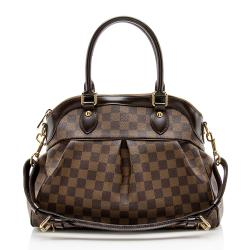 Louis Vuitton Damier Ebene Trevi PM Satchel