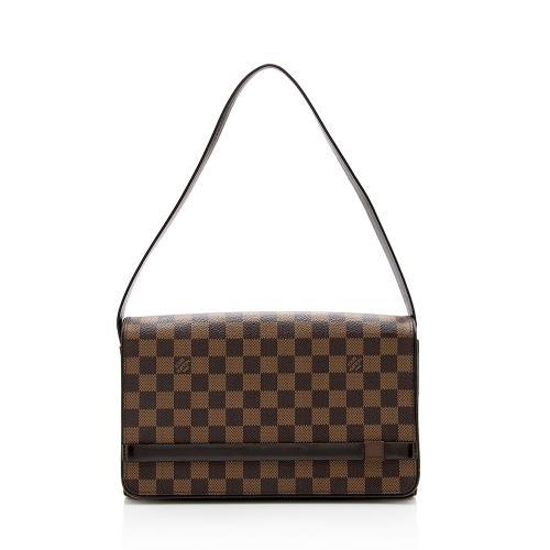 Louis Vuitton Damier Ebene Tribeca Long Shoulder Bag