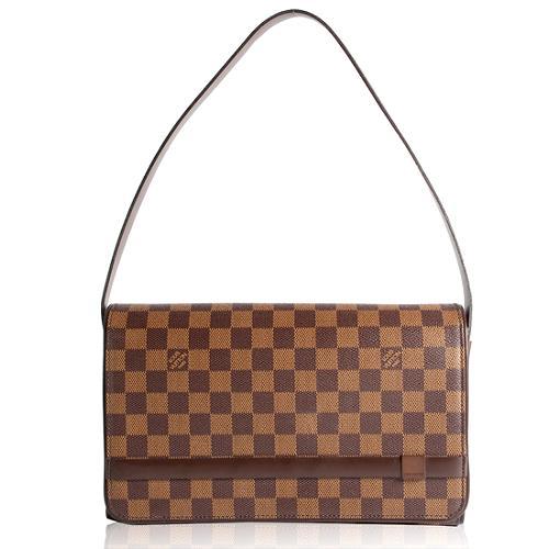 Louis Vuitton Damier Ebene Tribeca Long Shoulder Handbag