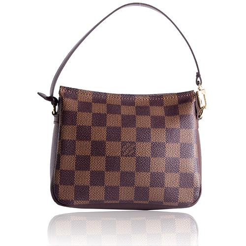 Louis Vuitton Damier Ebene Trousse Shoulder Handbag