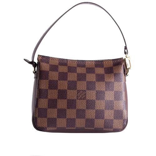 Louis Vuitton Damier Ebene Trousse Shoulder Handbag
