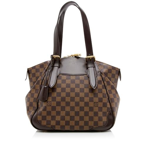 Louis Vuitton Damier Ebene Verona MM Shoulder Bag