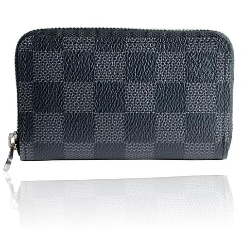 Louis Vuitton Damier Graphite Canvas Zippy Coin Wallet
