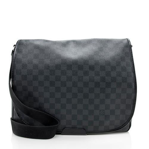Louis Vuitton Damier Graphite District GM Messenger Bag