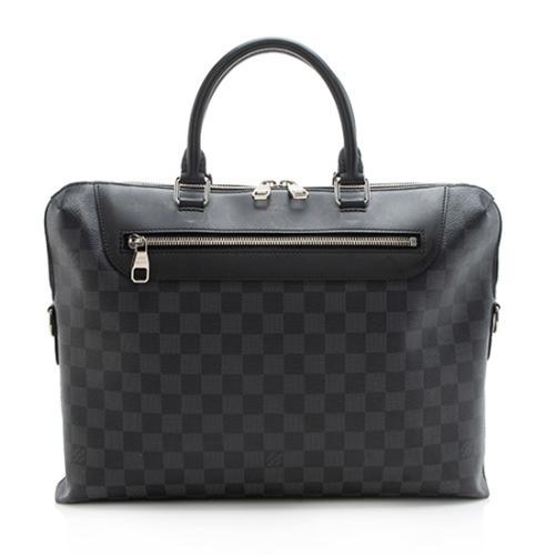 Louis Vuitton Damier Graphite Porte-Documents Jour Shoulder Bag