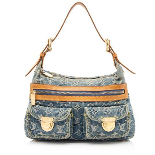 Louis Vuitton Denim Baggy PM Shoulder Bag - FINAL SALE