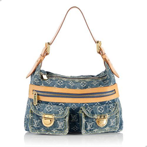 Louis Vuitton Denim Baggy PM Shoulder Bag