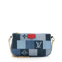 Louis Vuitton Denim Mini Pochette Accessories