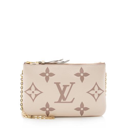 Louis Vuitton Empreinte Giant Monogram Double Zip Pochette