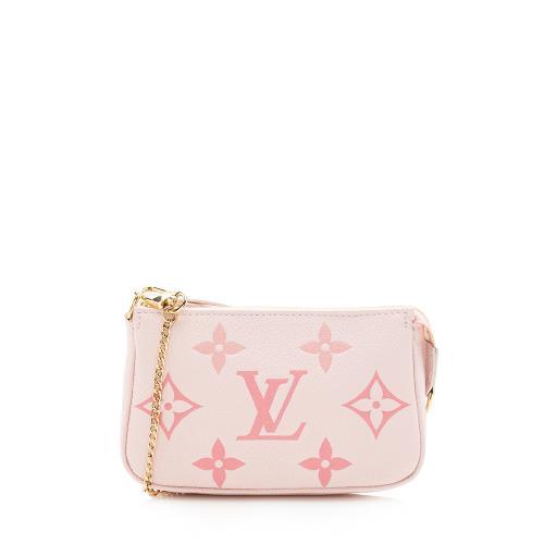Louis Vuitton Empreinte Monogram Leather By The Pool Mini Pochette Accessoires