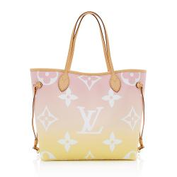 Louis Vuitton Giant Monogram By The Pool Neverfull MM Tote