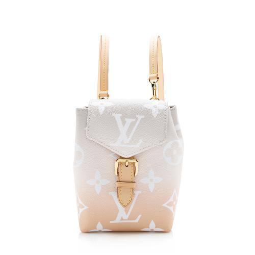 Louis Vuitton Giant Monogram By The Pool Tiny Backpack