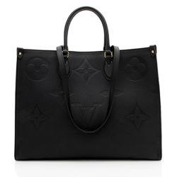 Louis Vuitton Monogram Empreinte Onthego GM Tote