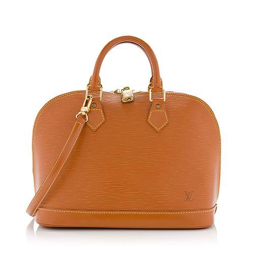 Louis Vuitton Epi Leather Alma PM Bandouliere Satchel