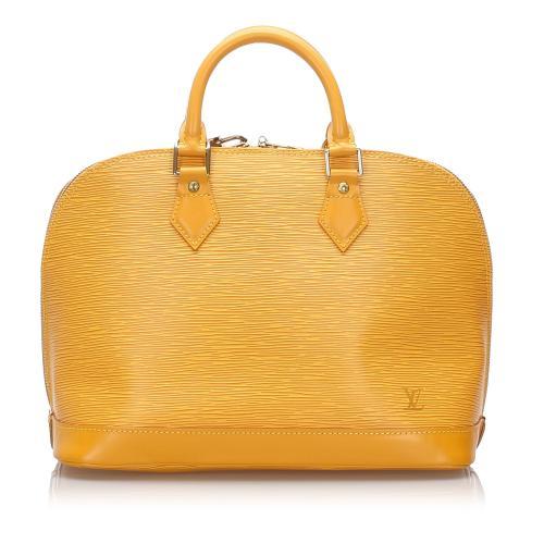 Louis Vuitton Epi Alma PM Satchel
