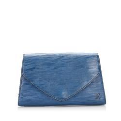 Louis Vuitton Epi Leather Art Deco Clutch