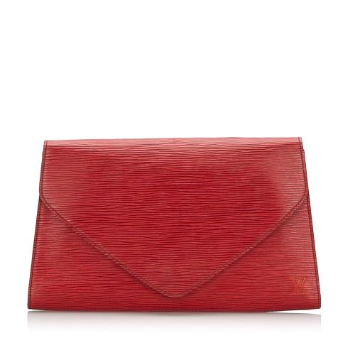 Louis Vuitton Epi Leather Art Deco Clutch