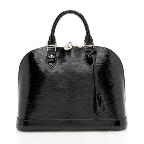 Louis Vuitton Epi Electric Alma PM Satchel