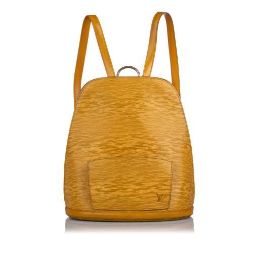 Louis Vuitton Epi Leather Gobelins Backpack