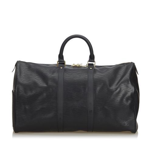 Louis Vuitton Vintage Epi Leather Keepall 45 Duffel Bag