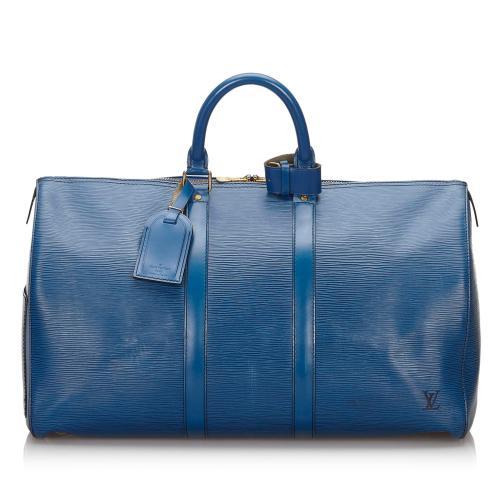 Louis Vuitton Epi Keepall 45 Duffel Bag