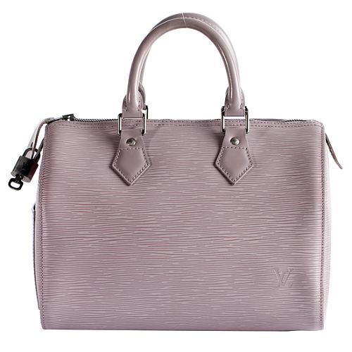 Louis Vuitton Epi Leaher Speedy 30 Satchel Handbag