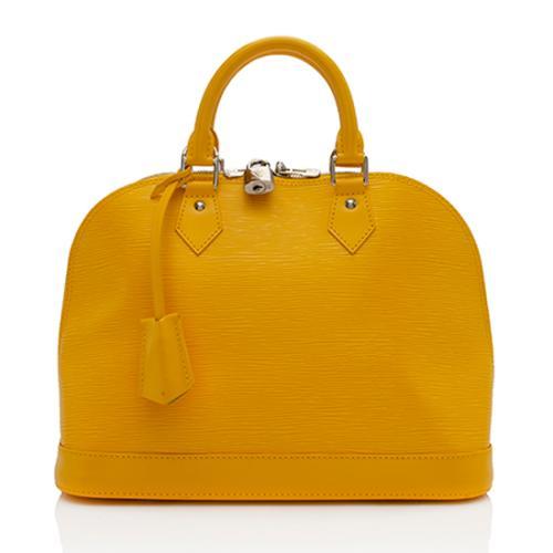 Louis Vuitton Epi Leather Alma PM Satchel