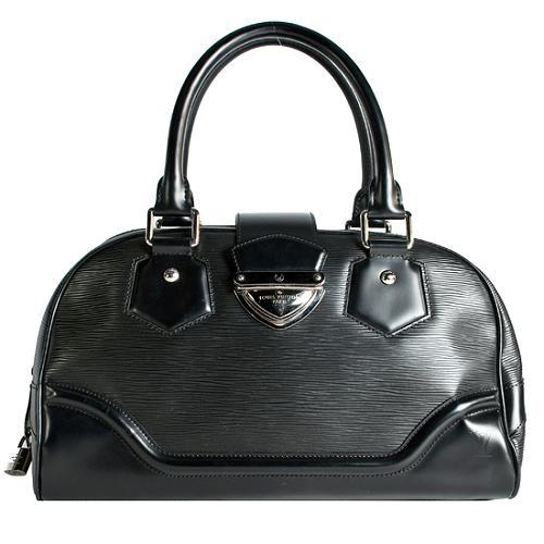 Louis Vuitton Epi Leather Bowling Montaigne GM Handbag