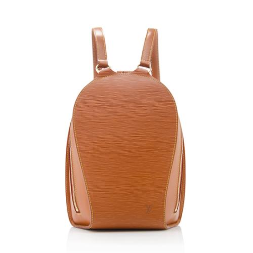 9a8b6cd587cc Louis-Vuitton-Epi-Leather-Mabillon-Backpack 72711 front large 0.jpg
