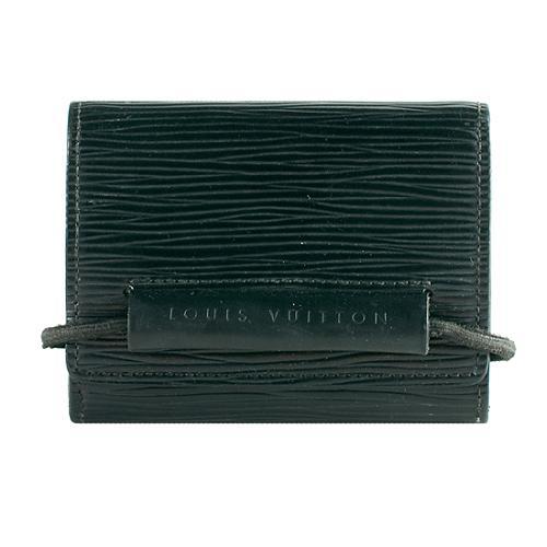 Louis Vuitton Epi Leather Monnaie Elastique Tri-fold Wallet