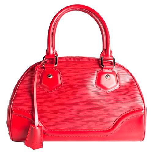 Louis Vuitton Epi Leather Montaigne Bowling PM Handbag