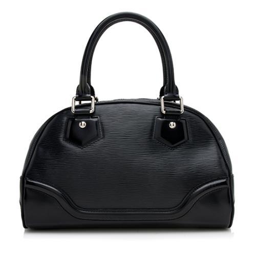 Louis Vuitton Epi Leather Montaigne Bowling PM Satchel - FINAL SALE