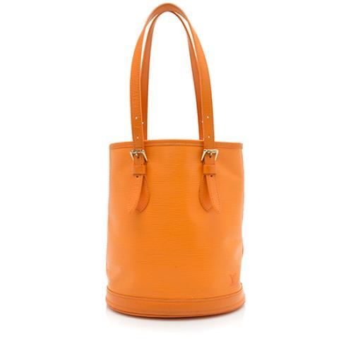 Louis Vuitton Epi Leather Petit Bucket Tote