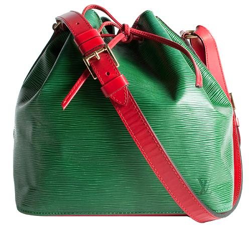 Louis Vuitton Epi Leather Petit Noe Handbag